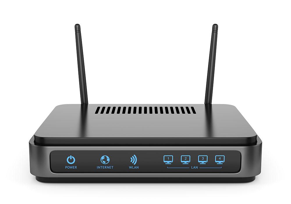 routeur informatique installation